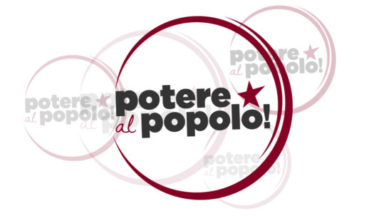 Potere al Popolo - Presentazione Logo