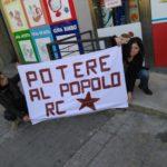 26D Reggio Calabria - Festivi al Lavoro no grazie Potere al Popolo