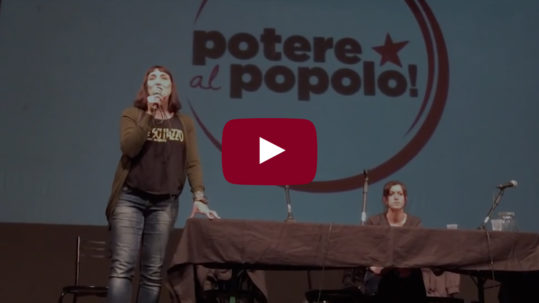 Assemblea nazionale Potere al Popolo - Intervento finale Viola Carofalo