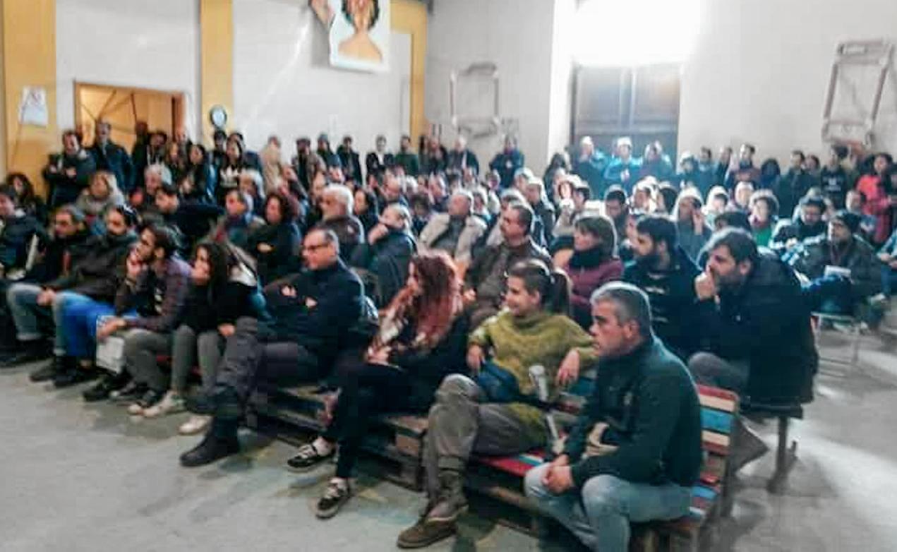 Catania-Assemblea-Potere al popolo