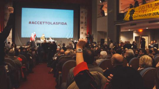 Accetto la sfida giovani comunisti - Potere al Popolo