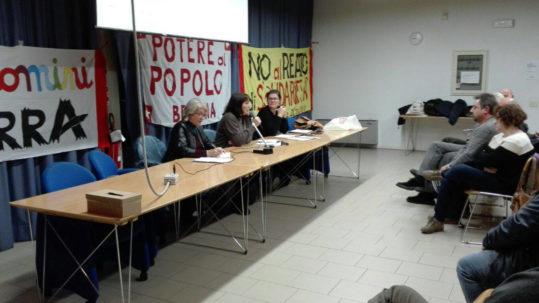 Brescia report dell'assemblea potere al popolo
