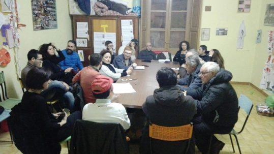 assemblea territoriale nell'Agro Nocerino - Sarnese