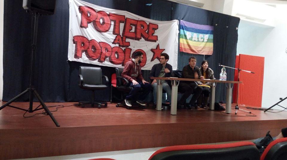 Scondia assemblea di Potere al Popolo