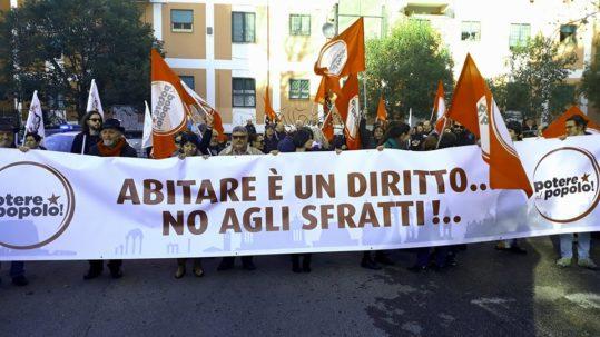 Roma Corteo per il diritto all'abitare