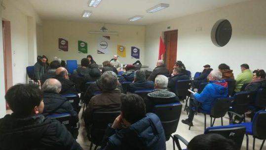 assemblea di potere al Popolo a Sant'Arsenio
