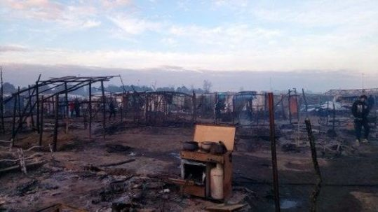 Incendio della tendopoli a San Ferdinando (RC)