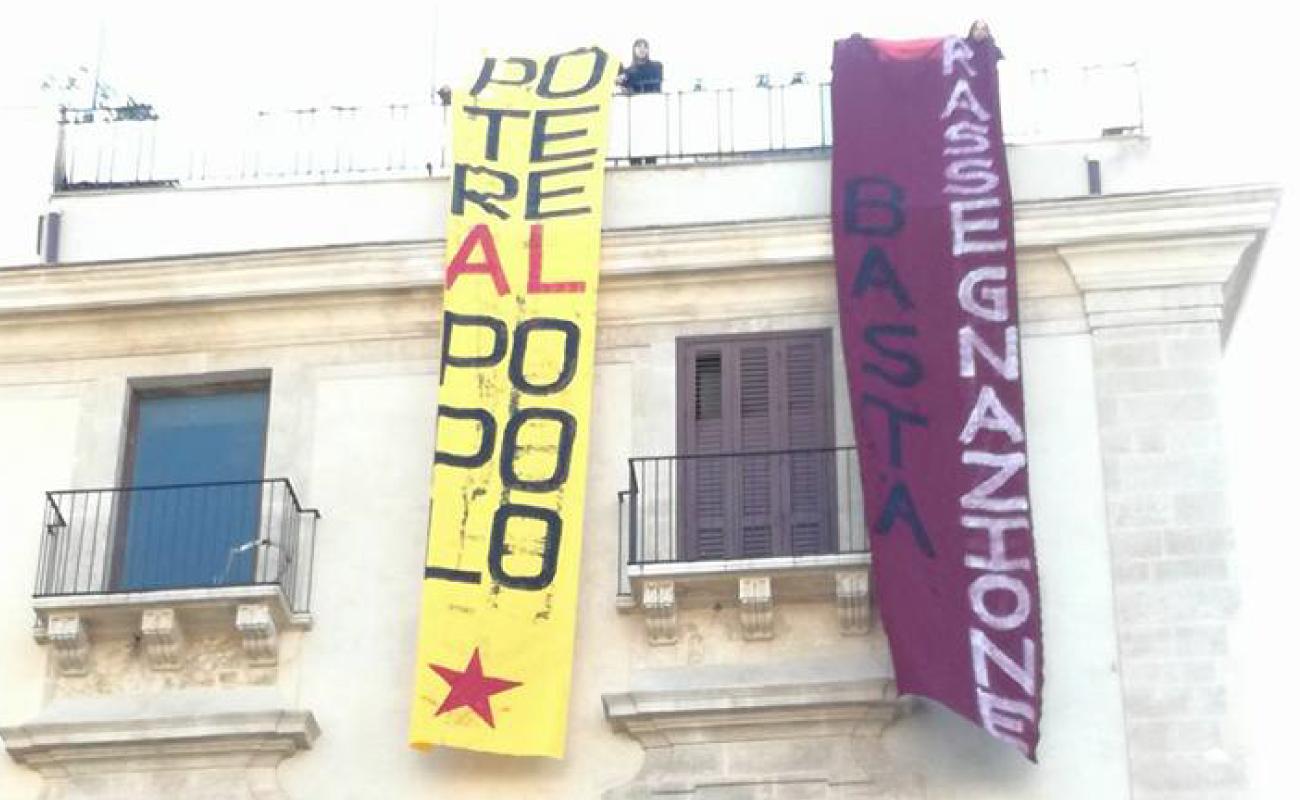 Catania flash mob - Potere al Popolo