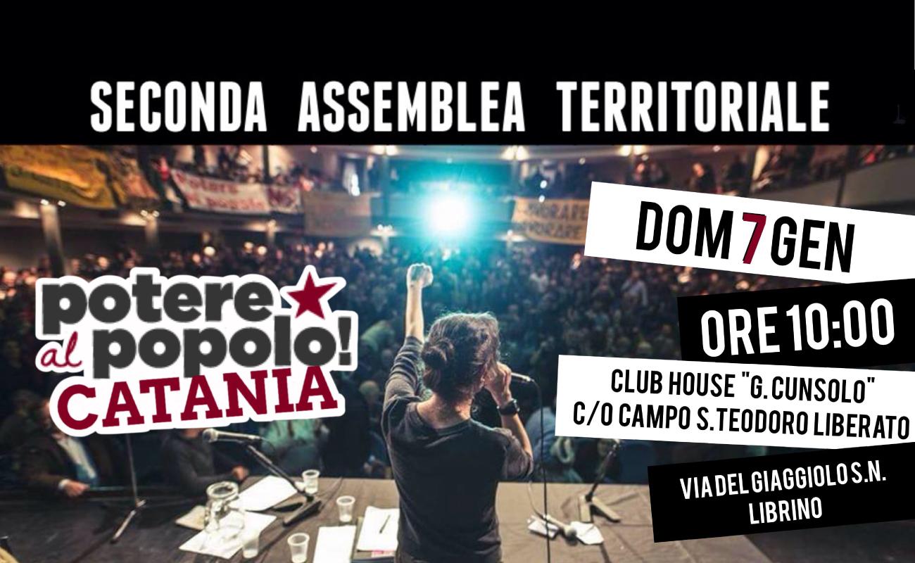 Catania resoconto seconda assemblea - Potere al Popolo