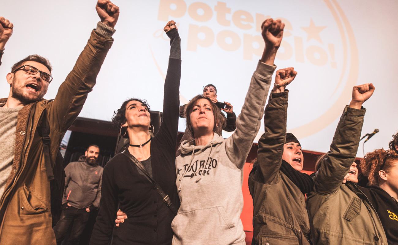 Napoli: presentazione lista Potere al Popolo