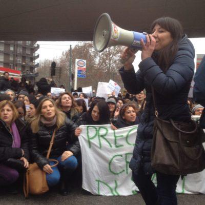 Sciopero degli insegnati diplomati basta precarieta diritti per tutti_15