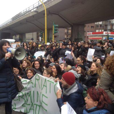 Sciopero degli insegnati diplomati basta precarieta diritti per tutti_16