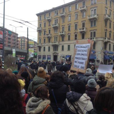 Sciopero degli insegnati diplomati basta precarieta diritti per tutti_18