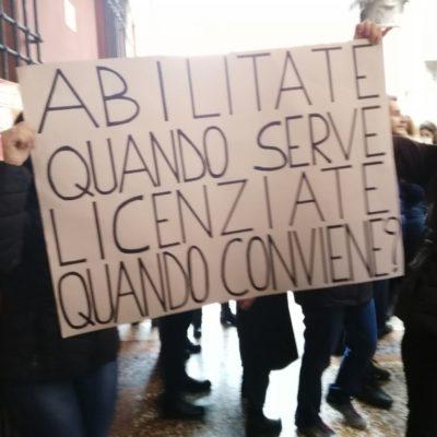 Sciopero degli insegnati diplomati basta precarieta diritti per tutti_4