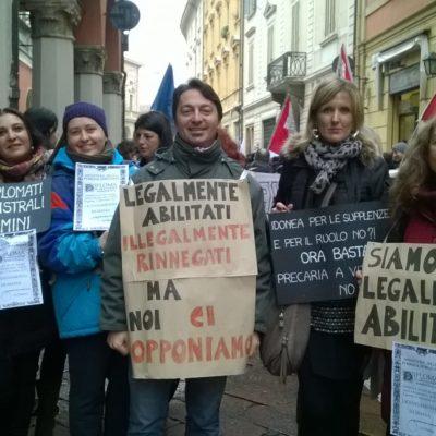 Sciopero degli insegnati diplomati basta precarieta diritti per tutti_5