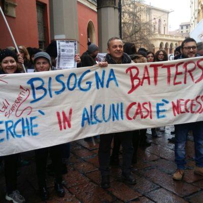 Sciopero degli insegnati diplomati basta precarieta diritti per tutti_6