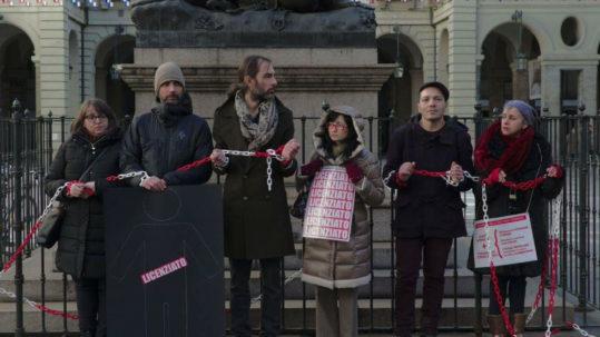 Torino licenziamenti museo - Potere al Popolo