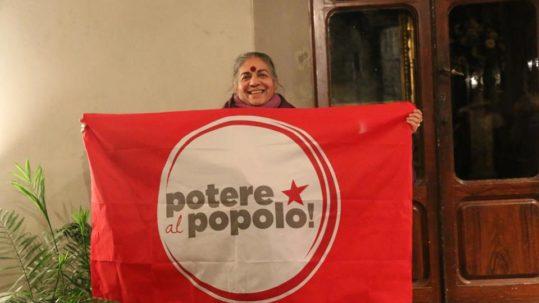 Vandana Shiva a Firenze, supporta potere al popolo!