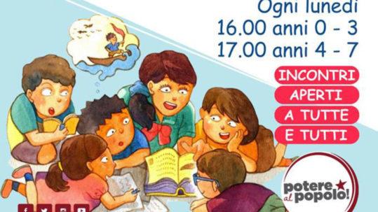 Lettura per bambini a Roma