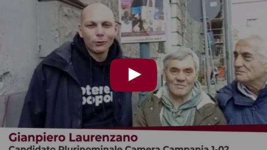 Gianpiero Laurenzano Incontra i lavoratori ASIA - Potere al Popolo