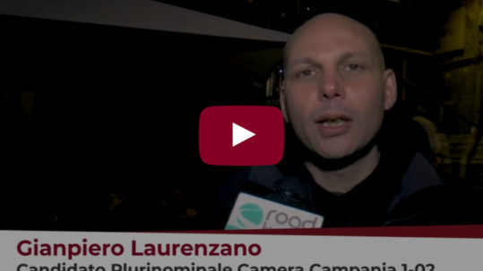 Intervista a Gianpiero Laurenzano (Potere al Popolo) su Road Tv