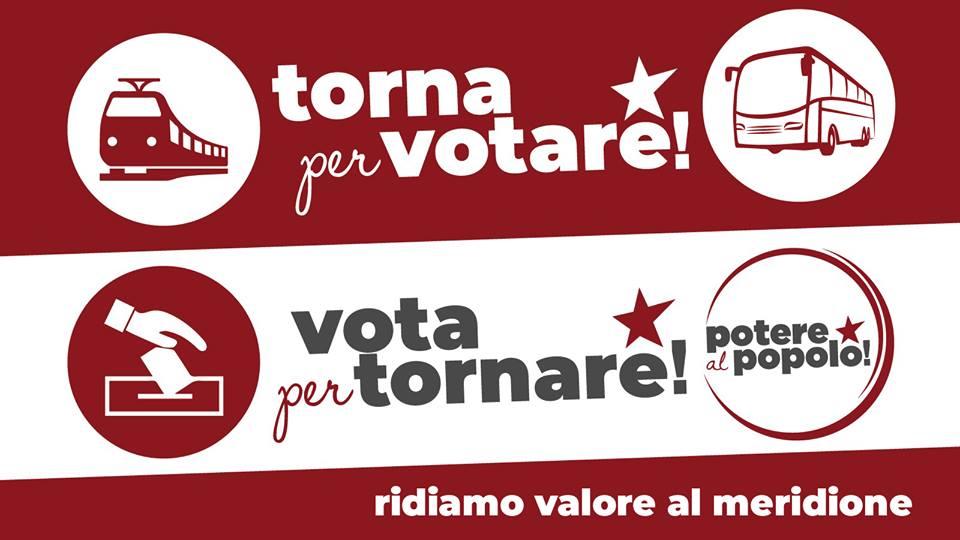 [Palermo] Torna per votare, vota per tornare! Campagna di crowdfunding