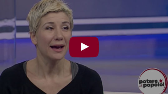 Francesca Fornario ospite a Agorà - La7