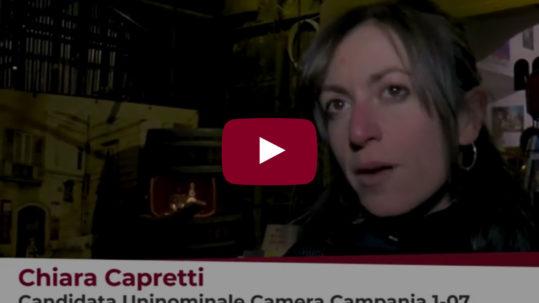 Intervista a Chiara Capretti (Potere al Popolo) su Road Tv