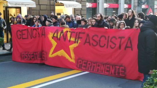 Corteo Antifascista a Genova
