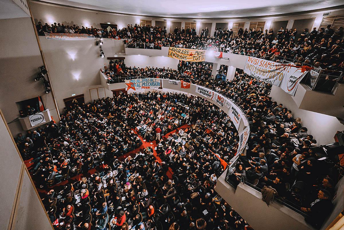 Assemblea a roma del 18 marzo | Potere al Popolo
