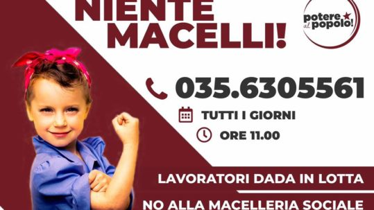 [Firenze] Macelleria sociale a DADA