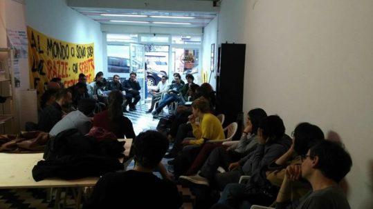 """riunione del gruppo di lavoro """"giovani"""" di Potere al Popolo Roma"""