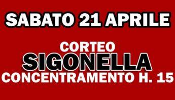 Manifestazione contro la guerra - Sabato 21 aprile