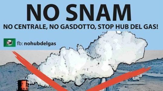 Domani a Sulmona con il popolo #NoSnam