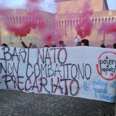Senigalliano alla guerra potere al popolo