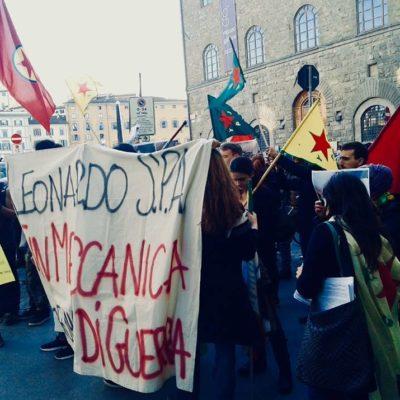 firenze in piazza contro la guerra potere al popolo