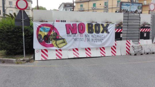 [Napoli] Continua la lotta NO BOX: carotaggi bloccati!
