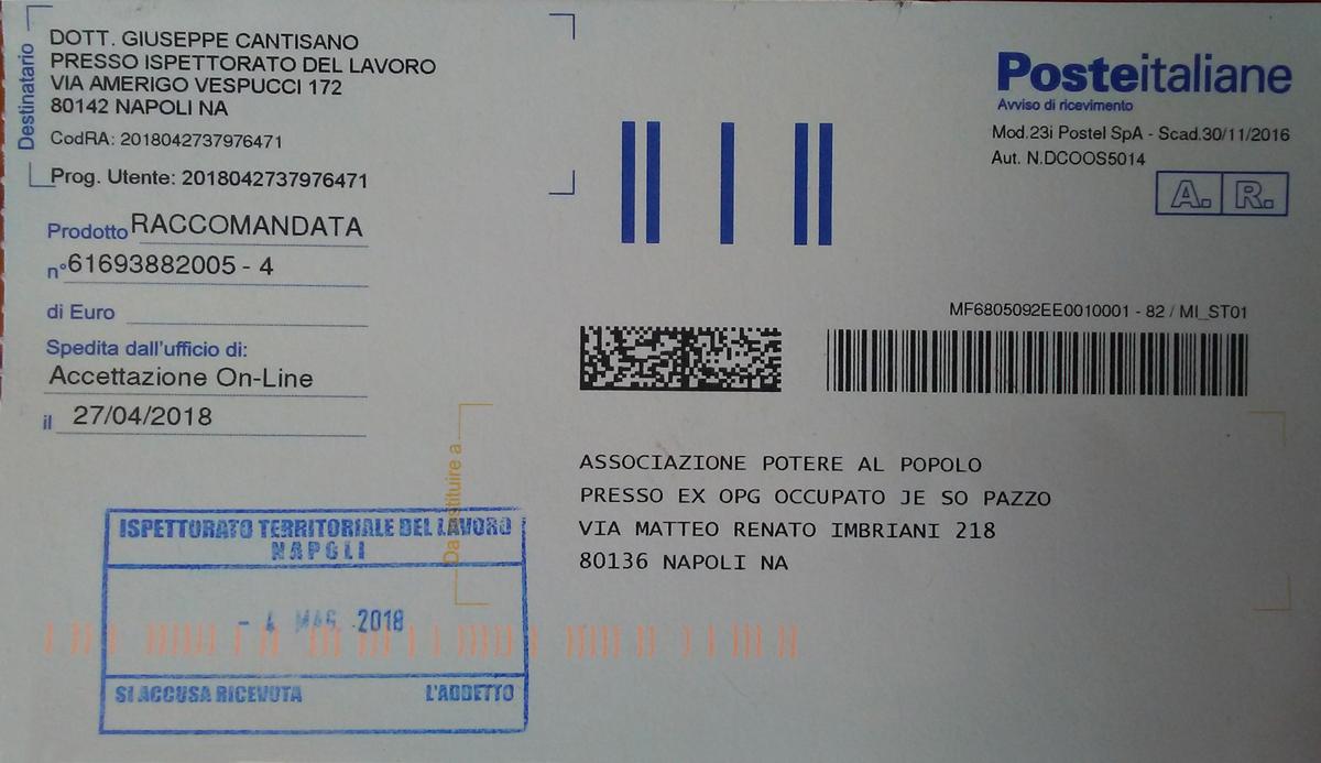Ufficio Lavoro Napoli : Napoli ritorno all ispettorato del lavoro la saga continua