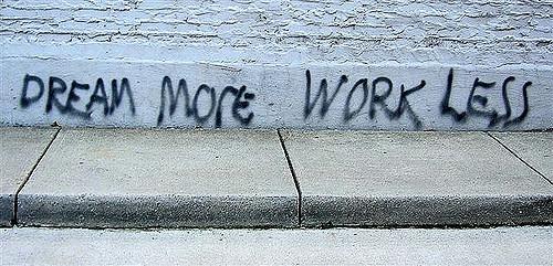 dream more work less potere al popolo