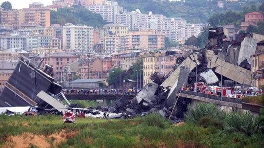Genova: c'è una ferita in fondo al cuore