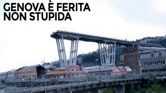 GENOVA E' FERITA, NON STUPIDA