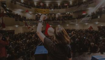 Manifesto di convocazione all'assemblea Potere al Popolo di Bologna
