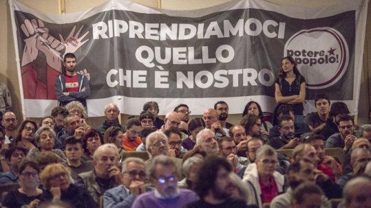 Assemblea a Roma di Potere al Popolo