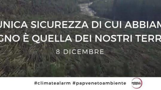 8 dicembre a Padova: in marcia per il clima