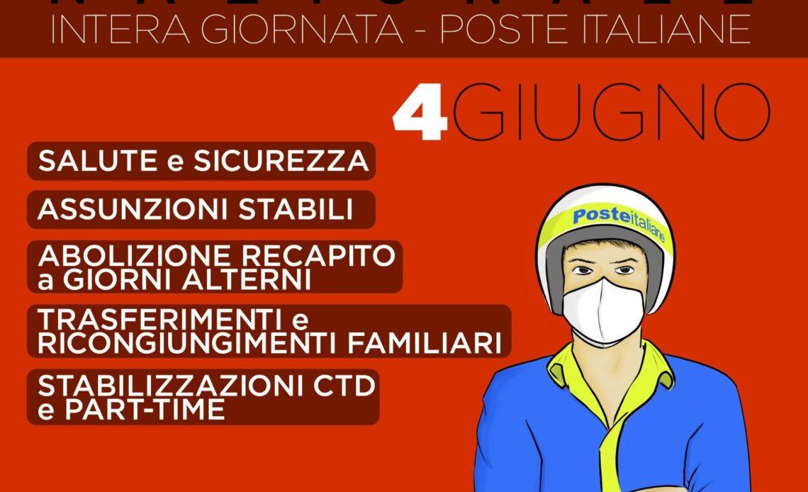 sciopero nazionale poste italiane